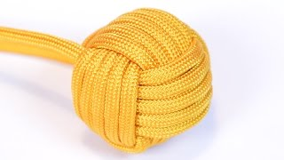 Download Make a 1″ Monkey Fist With Survival Paracord - BoredParacord Video