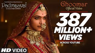Download Padmavati : Ghoomar Song| Deepika Padukone| Shahid Kapoor| Ranveer Singh|Shreya Ghoshal|Swaroop Khan Video