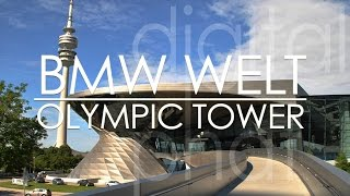 Download BMW Welt & Olympic Tower Tour in Munich Video