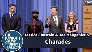 Download Charades with Jessica Chastain and Joe Manganiello Video
