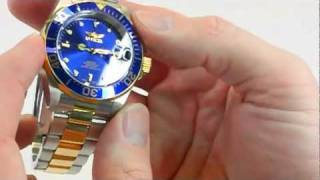 Download Invicta Automatic Pro Diver Watch Review Video