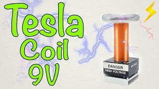 Download How to make a mini Tesla coil 9V Video
