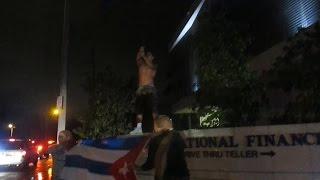 Download Miami Cubans Celebrate Fidel Castro's Death in Little Havana/ Calle Ocho! Video
