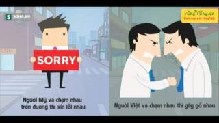 Download Sự khác nhau thú vị giữa người Việt và người Mỹ Video