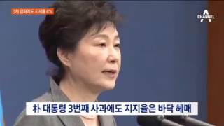 Download 박근혜 대통령 지지율 여전히 4%... 국민이 진정으로 원하는게 무엇일까 고민 필요 Video