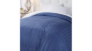 Download HGM Highland Plaid 400TC Goose Down Comforter T Video