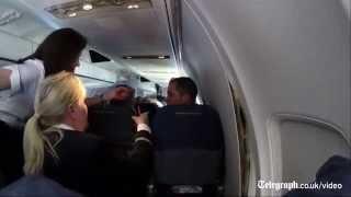 Download Watch: plane's cabin panels split open mid-flight Video