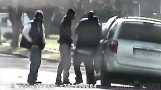 Download Private investigator Captures Double Shooting On Surveillance Video Video