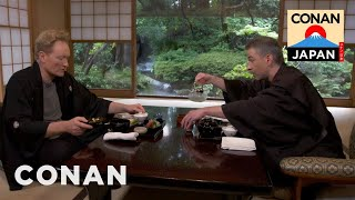 Download Conan & Jordan Share A Kaiseki Meal Video