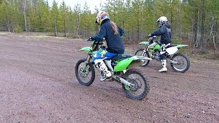 Download KX250 vs KX250F Video