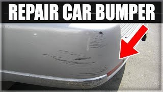 Download How to Repair a Scuffed or Damaged Car Bumper for less than $100 Video