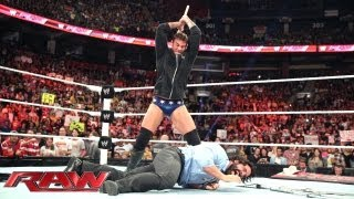 Download Paul Heyman Live In-Ring Medical Evaluation: Raw, Sept. 9, 2013 Video