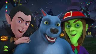 Download Hola es halloween | Hello Its Halloween | Little Treehouse Español | Canciones | In English Video