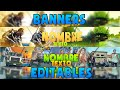 Download Pack de Banners Editables [Banners de gta 5, call of duty y minecraft] [Photoshop] [Español] Video
