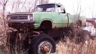 Download 4x4 Old Dodge Military Truck Video