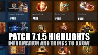 Download WoW Patch 7.1.5 Highlights and Commentary! Video