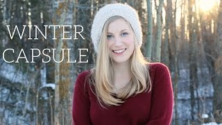 Download Winter Capsule Wardrobe | Project 333 Video