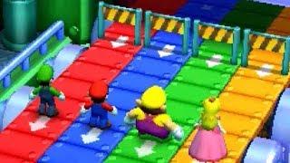 Download Mario Party The Top 100 Minigames - Luigi vs Mario vs Wario vs Peach Video