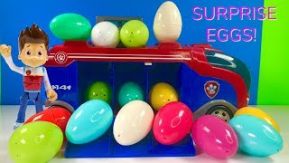 Download Fun Colors with Paw Patrol Mission Surprise Eggs for Kids & Children Video