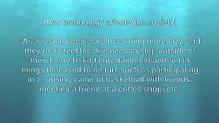 Download Advantages and disadvantages of technology Video