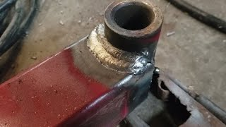 Download Welding The Loader! Repair of the Self Leveling Arm! Video