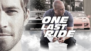Download Paul Walker Tribute - Dominic Toretto & Brian O'Conner Story (One Last Ride) Video