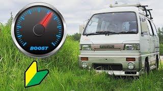 Download JDM Kei Van BOOST Gauge Install Video