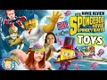 Download Sky Kids build Toys R Us Exclusive Spongebob Mega Bloks Figures + Sponge Out of Water Movie Review Video