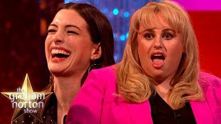 Download Anne Hathaway & Rebel Wilson LOVE Insulting Each Other | The Graham Norton Show Video
