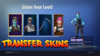 Download FORTNITE | HOW TO TRANSFER EVERY SKIN TO ANOTHER ACCOUNT FREE | SKULL TROOPER Video