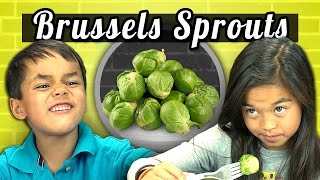 Download KIDS vs. FOOD #4 - BRUSSELS SPROUTS Video