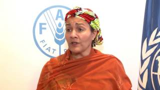 Download Remarks by Nigeria's Environment Minister, Amina Mohammed, at FAO. Video