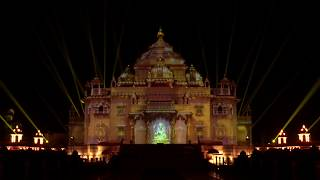 Download Festival of Light to Celebrate 25 years of Swaminarayan Akshardham, Gandhinagar, India Video