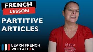 Download French Partitive Articles: du, de la, des, de l', de, d' Video