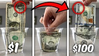 Download Turn $1 Into $100 Simple Trick! (Life Hacks) Video