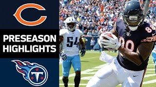 Download Bears vs. Titans | NFL Preseason Week 3 Game Highlights Video