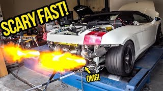 Download My Cheap Lamborghini GOES INSANE On The Dyno And Gets SCARY FAST! Video