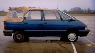 Download Renault Espace Convertible Challenge - Top Gear - BBC Video