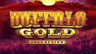 Download HUGE WIN!!! 3 Bonuses on Buffalo Gold Slot Machine Video