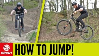 Download How To Jump On A Mountain Bike   MTB Skills Video