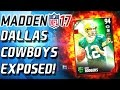 Download DALLAS COWBOYS GOT EXPOSED! ROMO TIME! - Madden 17 ULTIMATE TEAM! Video