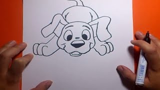 Download Como dibujar un perro paso a paso 18 | How to draw a dog 18 Video