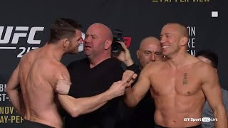 Download UFC 217 weigh-ins and face-offs: Bisping v GSP Video