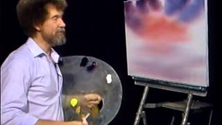 Download Bob Ross - Malerei roten Himmel - Malerei Video Video