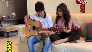 Download Mouni Roy's GUITAR CLASSES With Brother Video