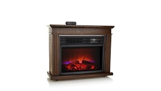 Download Improvements Flame FX Fireplace Heater with Remote Video