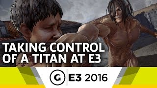 Download 6 Minutes of Attack on Titan Gameplay - E3 2016 Video