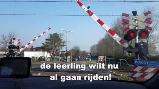 Download Ingreep Gezakt! Spoorweg overgang Rijswijk Video