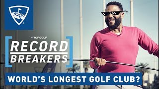 Download Anthony Anderson Attempts Golfing World Record | Record Breakers | Topgolf Video