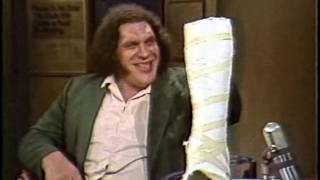 Download André the Giant on Late Night, January 23, 1984 Video